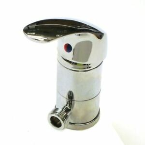 Caraflo Mini Mixer Chrome Shower Tap Caravan Motorhome