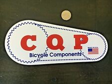 Cook Quality Products CQP Cook Bros Racing LARGE Sticker Decal Vintage BMX MTB