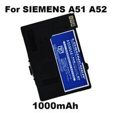 1000mAh EBA-510 Battery for Siemens A51 A52, A55 A56,A57,A60,A62,A65,A75,CT56 M5