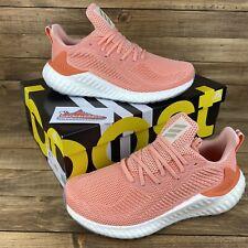 Adidas AlphaBoost CC Instinct Glow Pink/Coral Running Shoes Men's 8 Women's 9.5