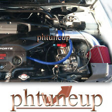 BLUE RED 2001 2002 2003 ACURA CL TL 3.2 3.2L TYPE-S V6 AIR INTAKE KIT + FILTER