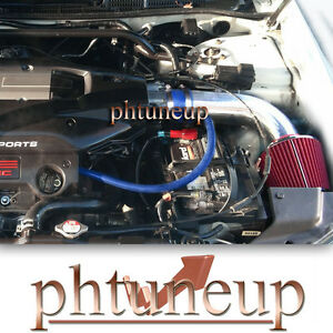 BLUE RED fit 2001-2003 ACURA CL TL 3.2 3.2L TYPE-S V6 (Automatic) AIR INTAKE KIT