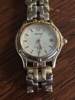 Seiko 7N82-1381 Gold Tone Ladies Quartz Watch
