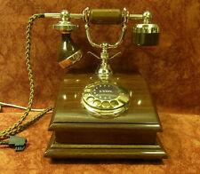 LYON  Telefon Holztelefon Telephone  Fernsprecher  DFeAp301 Top!