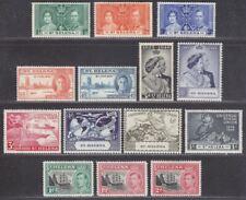 St Helena 1937-49 KGVI Selection Mint inc Coronation, RSW, Victory, UPU
