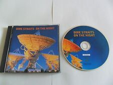 DIRE STRAITS - On The Night (CD 1993) UK Pressing