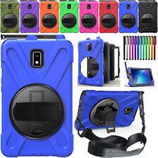 F Samsung Galaxy Tab 2 T390 T395 Giratorio Active Heavy Duty duro caso Stand cubrir