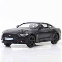 Ford Mustang 2015 1:36 Scale Model Car Metal Diecast Gift Toy Vehicle Kids Black