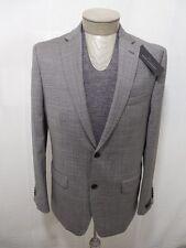 Marc Anthony Mens 100% Wool 2 Button Black White Slim Fit 40 R Coat Suit Jacket