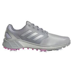 NEW Mens Adidas 2021 ZG21 Golf Shoes Grey / Silver / Pink 10 M