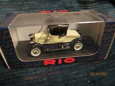 1/43 Rio # 7 ITALY MASSIVE SALE Fiat Spyder Zero Carrozzata 1912-15  BRAND NEW!