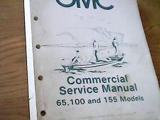 Johnson Evinrude OMC Service Manual 1984 Commercial 65RWCR 100RWCR 155RWCR