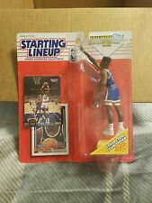 1993 PATRICK EWING New York Knicks w/ 2 cards - low s/h- Starting Lineup