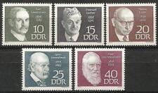 ALLEMAGNE (est) 1968 neuf sans charnière-Célébrités les anniversaires lakser Eisler Semmelweis