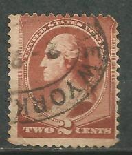 ESTADOS UNIDOS USA Scott# 210 usado 1883 New York