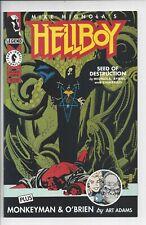Hellboy Seed of Destruction 3- NM- (9.4)