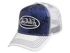 5d3b641a597a1 Von Dutch Women s Navy Sparkle Snapback Trucker Cap Hat (one Size Fits Most)