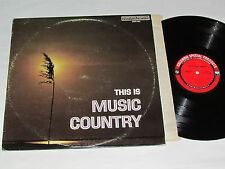 THIS IS MUSIC COUNTRY LP Columbia CSPS-401 Johnny Cash Ray Price Marty Robbins+