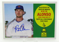 2020 Topps Archives 1960 All-Star Rookies Autograph Pete Alonso Mets 49/50