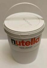 HUGE NUTELLA CHOCOLATE HAZELNUT SPREAD BULK SIZE FOR FOOD SERVICE 6.6 LB TUB