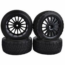 4PCS 80mm RC 1:10 On-Road Rally Car Rubber Tyres Tires HPI WR8 & HSP 94177 713-4