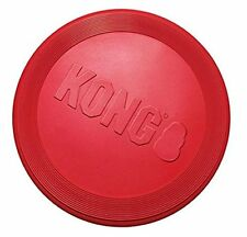 KONG Classic Red Flyer Dog Toy K9 Natural Rubber Frisbee Disc SMALL (KF15)