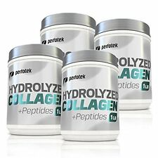 ▶ Collagen Peptides 4LB Hydrolyzed Anti-Aging Protein Powder Kosher 4 Pack x 1LB