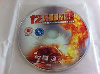12 Rounds - DVD R2 Film - Extended Harder Cut Ashley Scott John Cena - DISC ONLY