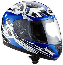 protectWEAR Sa03-bl-xs Kinder Motorradhelm Blau
