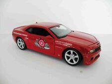 2010 Chev Camaro SS RS Jim Beam Custom Graphics 1/24 Red Diecast Sedan