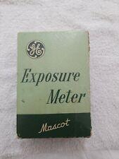 Vintage GENERAL ELECTRIC Mascot Exposure Light Meter PR-30 Photography Photos