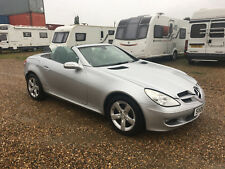 2006 MERCEDES BENZ SLK280 CONVERTIBLE cat n SILVER R171 SALVAGE DAMAGED REPAIR