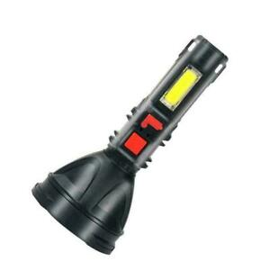 Super Bright 10000000LM Torch Powerful LED Flashlight Hot Rechargeable UK M0F5