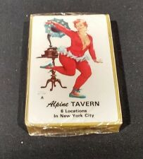SEALED AD HILDA DANCES DUANE BRYERS PIN UP ALPINE TAVERN NYC PLAYING CARDS NEW