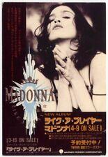 Madonna Like A Prayer WB Sire Japanese 1989 promo postcard