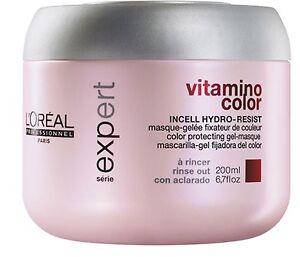 Serie Expert  VitamiNo ColoR Tratamiento 200ML LoreaL Peluqueria ProfesionaL