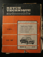 Revue Technique Automobile Fiat 128