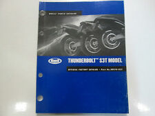 2002 Buell Thunderbolt S3T Modèle Parties Catalogue Manuel Usine OEM Book Usé 02