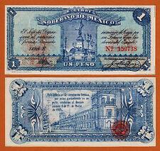 Mexico E. Libre y Soberano de Mexico 1915 One Peso UNC