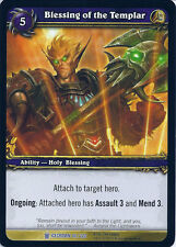 WOW WARCRAFT TCG ICECROWN : BLESSING OF THE TEMPLAR X 4