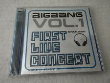 Big Bang 2006 1st Concert Live Album - The Real CD+POST CARD $2.99 S&H BIGBANG