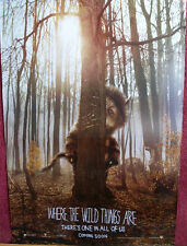 Cinema Poster: WHERE THE WILD THINGS ARE 2009 (One Sheet Advance) Mark Ruffalo