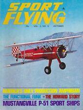 Sport Flying (Oct 1967) (Lake Amphibian, Civilian P-51s, Fleet, Funk, Dga-15)