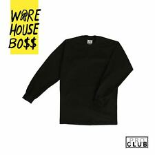 PROCLUB PRO CLUB HEAVYWEIGHT LONG SLEEVE TEE T SHIRT CREWNECK 12 Colors