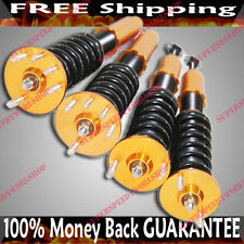 Coilover Suspension GOLD Pillowball  System fit 04-08 Acura TSX 03-07 Accord