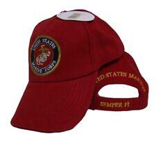 Rot Marines Marine Usmc Siegel Wappen Semper Fi Hut Bestickt Hülle Ball Kappe