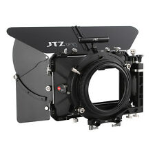 "JTZ DP30 Carbon Fiber 4x5.65"" Matte Box 15mm/19mm For Sony ARRI RED CANON Nikon"