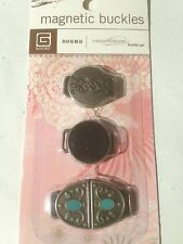 Basic Grey Scrapbooking Magnetic Buckles ~ NEW