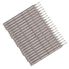0.6mm Diamond Coated Hole Saw Tool Lapidary Drill Bit Needle Solid Bits 20pcs