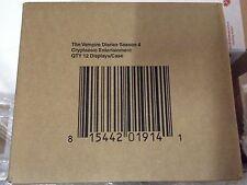Factory Sealed case of Vampire Diaries season 4 trading cards - Cryptozoic